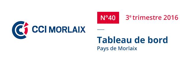 Tableau de bord -Pays de Morlaix -N°40 3e trimestre 2016